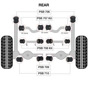 706 707 708 709 710 diagram Polyurethane bushing-01