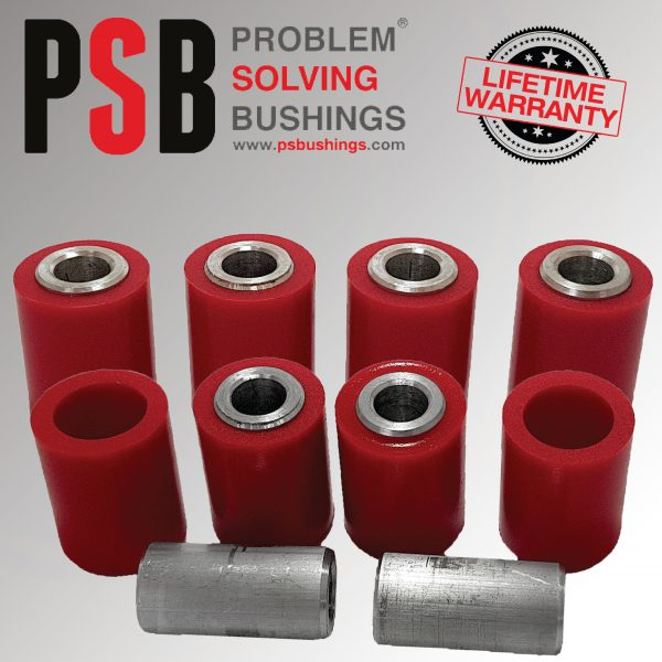 Mini R50,52,53,55,56,57,58,59,60,61 Complete Rear Upper Lower Lateral Arm Bushing Kit (01-16) - PSB661