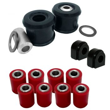 Mini Cooper R55/56/57/58/59/60/61 Rear Trailing (60mm OD) Complete Lateral Arm Poly Bush Kits (07-14) - PSB660/661/641