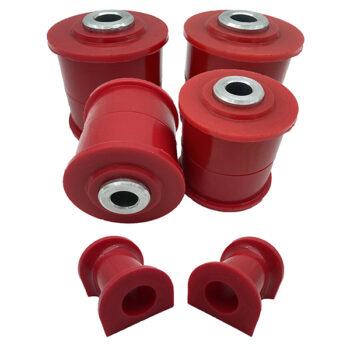 VW Transporter T5/T6 Complete Rear & Anti Roll Bar 24mm Red Poly Bushing Kit 03-18