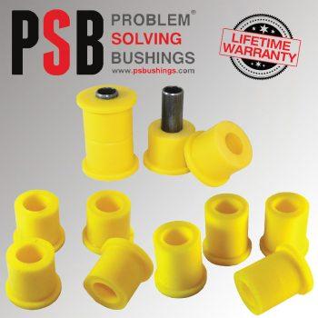 10 x Nissan D40 Navara Rear Spring Front /Upper Lower Shackle PSB Bushing 04 -15 - PSB017F/PSB008/PSB008L