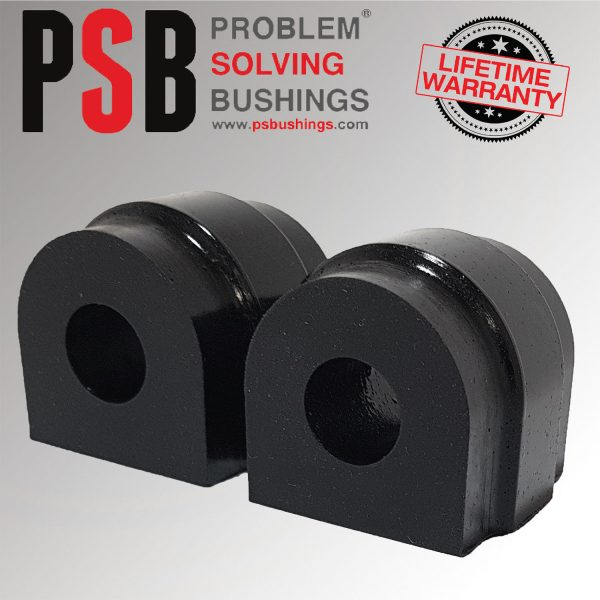 2 x BMW E61 5-Series Wagon Polyurethane PSB Rear Anti Roll Bushing 18mm 06 -10