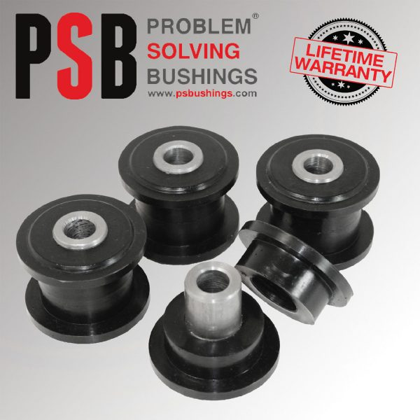 4 x Iveco Daily Front Upper / Lower Arm PSB Poly Polyurethane Bush 1998 to 2013