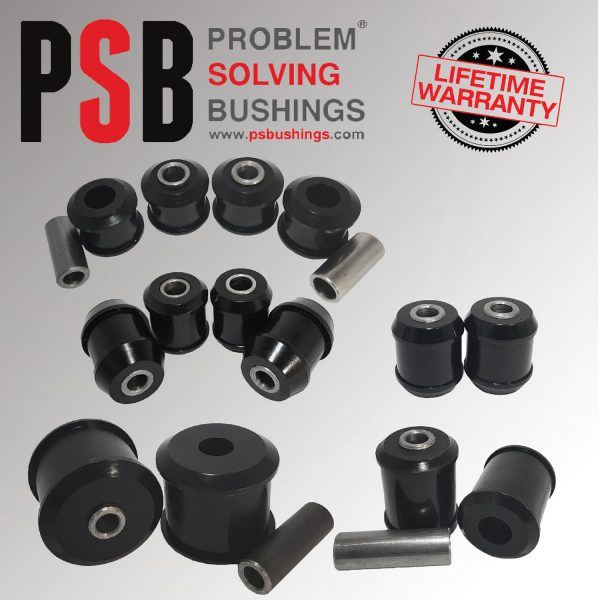 VW Scirroco/Tiguan/Touran/Sharan Complete PSB Rear Suspension Bush Kit 06 - 16