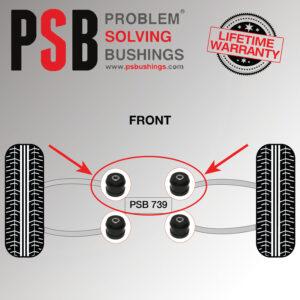 2-x-Audi-S4-Front-Upper-Arm-Links-PSB-Poly-Polyurethane-Bushing-Kit-1995-2001-173833671792-2