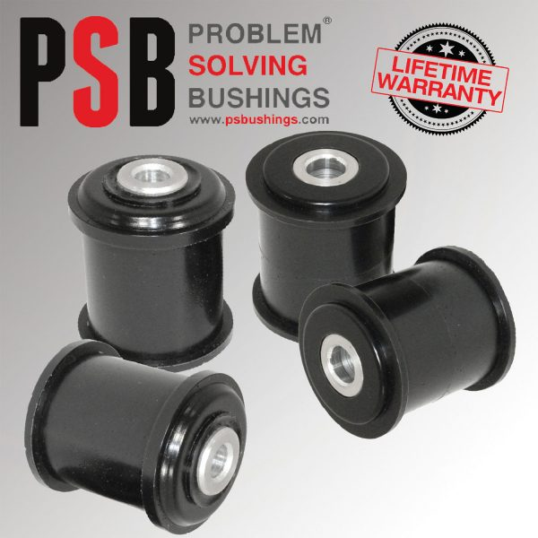 BMW 5 Series E60/61/E63 Rear Lower Arm Polyurethane Poly PSB Bushing Kit 2004 -2010 - PSB653/654