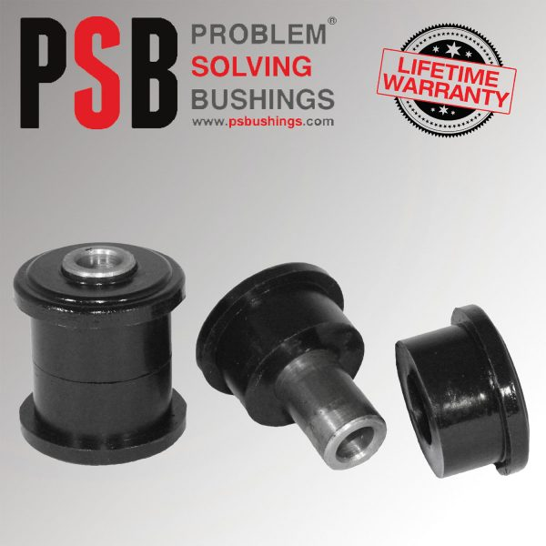 2 x VW Caddy Poly Polyurethane PSB Front Lower Arm Front Bushing 07/2010 - 2017