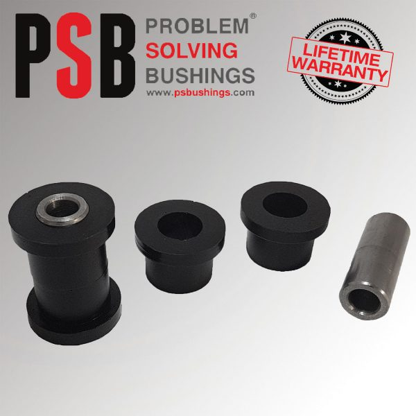 2 x Audi A2 New Front Wishbone Arm Front Poly Bushings 00 - 06 - PSB148