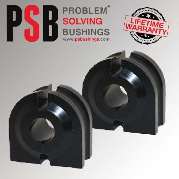 2 x BMW E63 6-Series Front M-Sport Anti Roll Polyurethane PSB Bush 25.5mm 04 -10