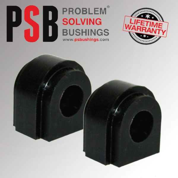 2 x Mini R55,56,57,58,59,60,61 Poly PSB Rear Anti Roll Bushing 18mm 2001 - 2016