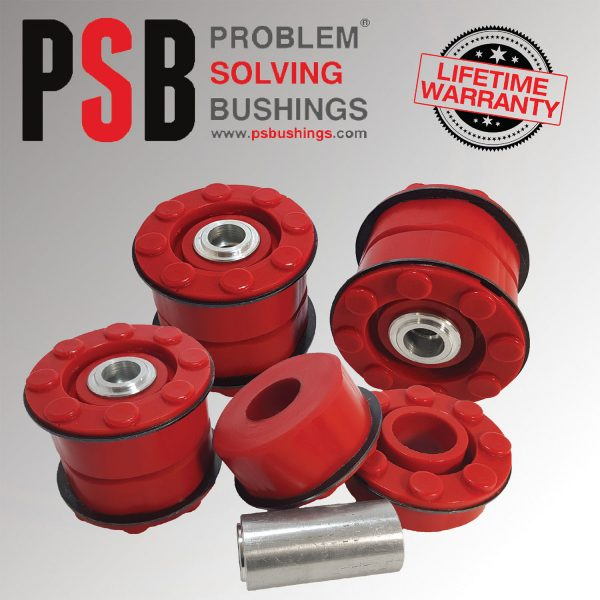 4 x BMW X5 E53 Rear Subframe New Polyurethane Bushing Kit 2000 - 2006 - PSB648
