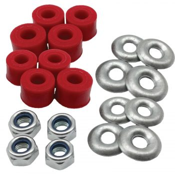 20 x Nissan D21/D22/NP300 Front Anti Roll Bar Link Poly Bush Kits 10mm x 150mm -  PSB029S ( PO#16/12)