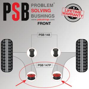 2-x-Audi-A3-MK1-96-03-Front-Wishbone-Rear-PSB-Poly-Polyurethane-Bush-172716296877-5