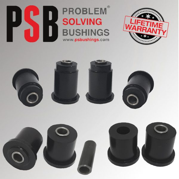 Nissan D40 Navara (05-14) Upper & Lower Front Arm PSB Poly Polyurethane Bushes