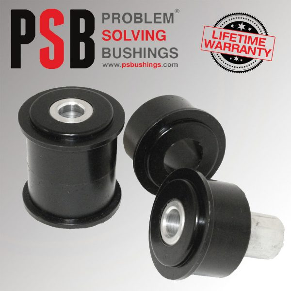 2 x BMW 5 - Series Wagon E61 PSB Poly Rear Lower Arm Rear Bushing (04-10) - PSB654