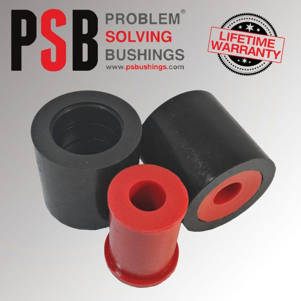 2 x Mazda 3 Front Lower Arm Rear New PSB Poly Bushing 03 -15 - PSB264