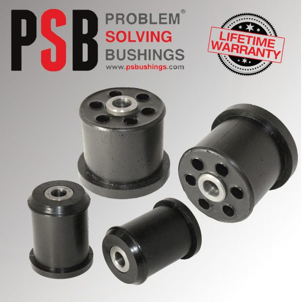 Land Rover Discovery 3&4 Front Lower Arm Poly Polyurethane Front Bush KIT 05 -15 - PSB221B & 221C
